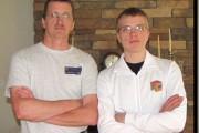 Père et fils au Championnat de cube Rubik