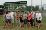 Inauguration du parc Jean-Maurice Lavergne