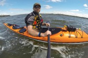Le fleuve en kayak