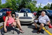 Grosse rencontre de mini-voitures