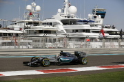 Grand Prix d'Abou Dhabi: Hamilton devant Rosberg