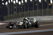 Rosberg s'empare de la pole au GP d'Abou Dhabi