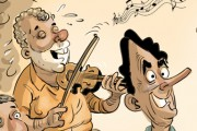 Décembre en caricatures