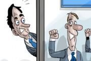 Le mois de février en caricatures
