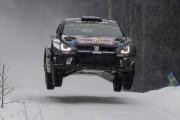 Rallye de Suède: Sébastien Ogier arrêté pour excès de vitesse