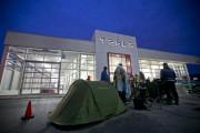 C'est Woodstock chez Tesla