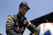 Indy 500: en poleHinchcliffe ne pense pas à l'accident de l'an dernier