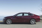 Banc d'essai Chevrolet Malibu: un profil recherché