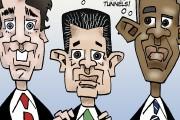 Les caricatures de Bado, juin 2016