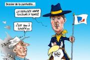 Caricatures de Jean Isabelle (juin)