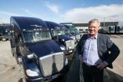 Vie de routiers : le camion personnalisé de Réal Gagnon