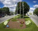 Les mosaïques florales de Trois-Rivières