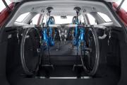 En dedans, les vélos