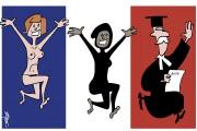 Les caricatures de Bado, août 2016