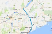 Corridor électrique entre Québec et Portland, dans le Maine