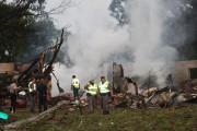 «Comme une grosse bombe»: un mort dans l'explosion d'un camion chargé de pièces Takata