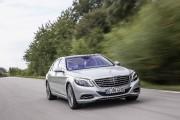 Banc d'essai Classe S550e: Mercedes se branche pour de bon