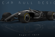 La F1 de l'avenir a l'air d'une Batmobile