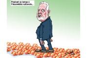 Caricatures de Jean Isabelle (octobre)