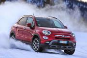Première neige, ou comment rouler 4x4 sans se ruiner : Fiat 500X