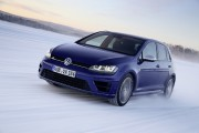 Première neige : Volkswagen Golf R, la méchante