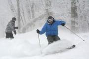Skier l'hiver