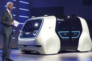 Salon de Genève : Le Groupe Volkswagen présente le prototype autonome Sedric