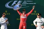 Sebastian Vettel a démontré qu'il a les moyens de défier les Mercedes