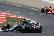 Hamilton remporte le GP d'Espagne, Stroll finit16e