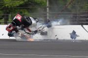 500 miles d'Indianapolis: Sébastien Bourdais est sorti du bloc opératoire