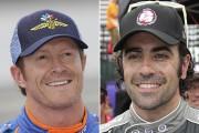 Scott Dixon et Dario Franchitti ont été victimes d'un vol à Indianapolis