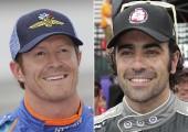 Dixon et Franchitti victimes d'un vol à Indianapolis