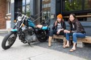 Entre filles, à deux roues
