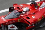 Vettel fait l'essai d'un écran transparent pour protéger les pilotes de F1. Et il n'aime pas ça.