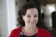 Entrevue pour le Mérite estrien d'Isabelle Vallée dans la ca