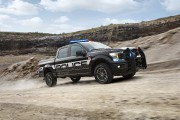 Ford lance un pick-up de police off-road roulant à 160 km/h