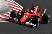 GP de Hongrie: la pole à Vettel