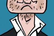 Les caricatures de Bado, août 2017