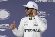 Lewis Hamilton obtient à pole à Austin