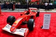 Une F1 pilotée par Michael Schumacher adjugée 7,5 millions
