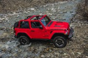 Salon de Los Angeles : le Wrangler nouveau est arrivé. Il y a une version hybride, mais ça reste un Jeep.