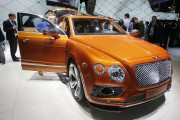 Bentley au Salon de l'auto : Bentayga, le luxe format XXL