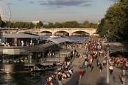 Paris: les automobilistes reprennent aux piétons les bords de Seine<strong></strong>