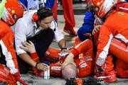 Kimi Räikkönen blesse un mécanicien à la sortie des puits