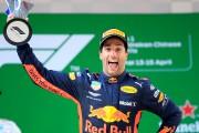 DanielRicciardo s'offre une victoire inattendue au GP de Chine; Stroll 14<sup>e</sup>