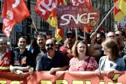 FRANCE-POLITICS-LABOUR-UNION-STRIKE