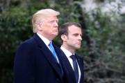 TOPSHOT-US-FRANCE-DIPLOMACY-TRUMP-MACRON