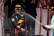 Daniel Ricciardo s'impose à Monaco