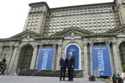 Ford mise son avenir sur un centre high-tech en plein Détroit<strong></strong>