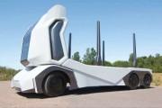 Un camion électrique sans chauffeur en Suède